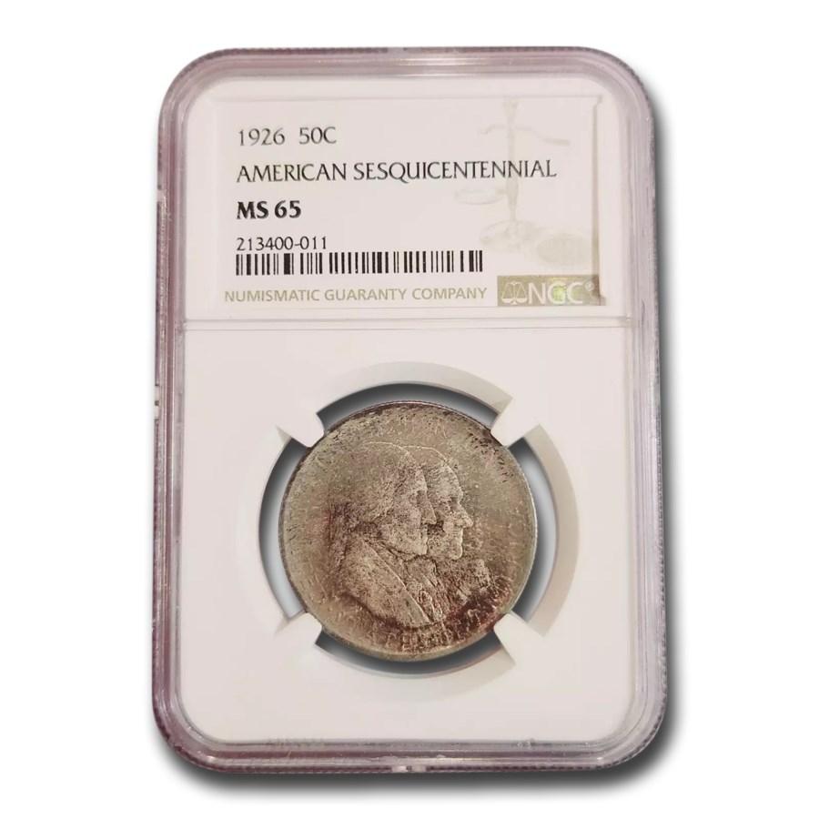 1926 America Sesquicentennial Half Dollar MS-65 NGC