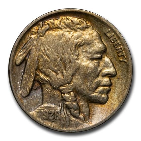 1926 Buffalo Nickel AU