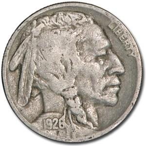 1926 Buffalo Nickel Good+