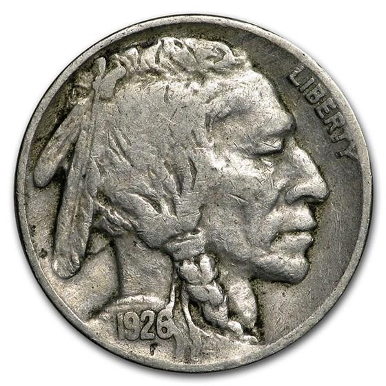 1926 Buffalo Nickel VF