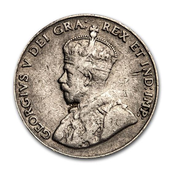 1926 Canada 5 Cents Fine (Near 6)