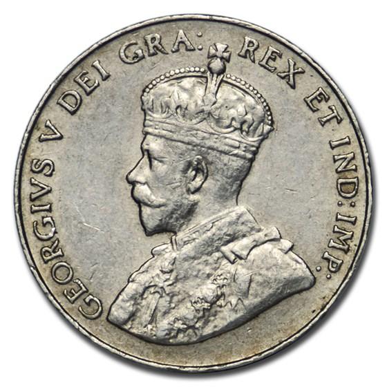 1926 Canada 5 Cents XF (Near 6)
