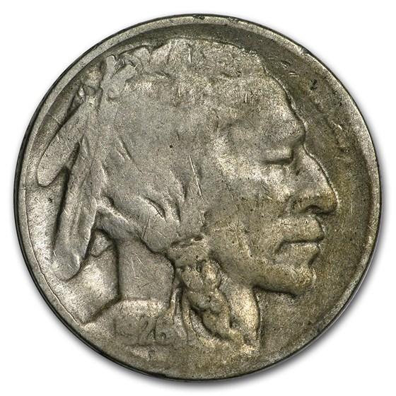 1926-D Buffalo Nickel Good