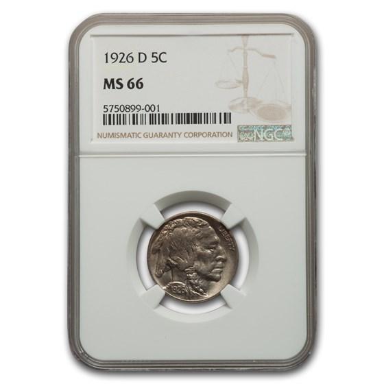 1926-D Buffalo Nickel MS-66 NGC