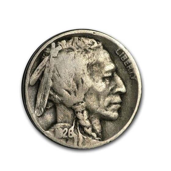 1926-D Buffalo Nickel VG