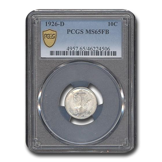 1926-D Mercury Dime MS-65 PCGS (FB)