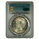 1926-D Peace Dollar MS-66+ PCGS CAC