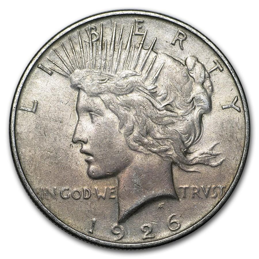 1926-D Peace Dollar XF