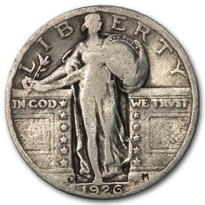 1926-D Standing Liberty Quarter Good/VG