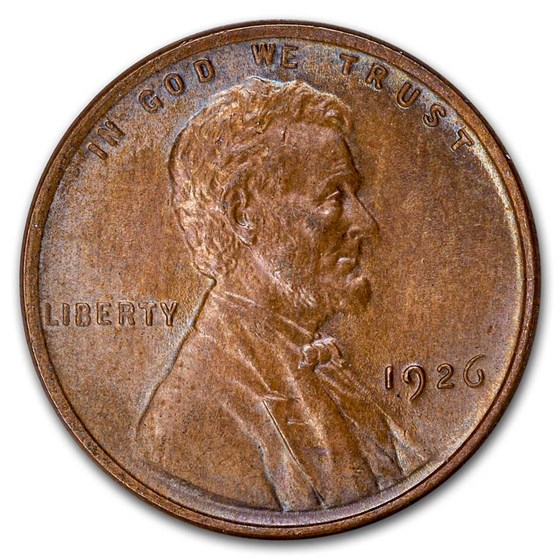 1926 Lincoln Cent BU (Brown)