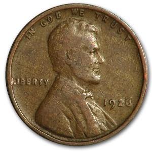 1926 Lincoln Cent Good/Fine
