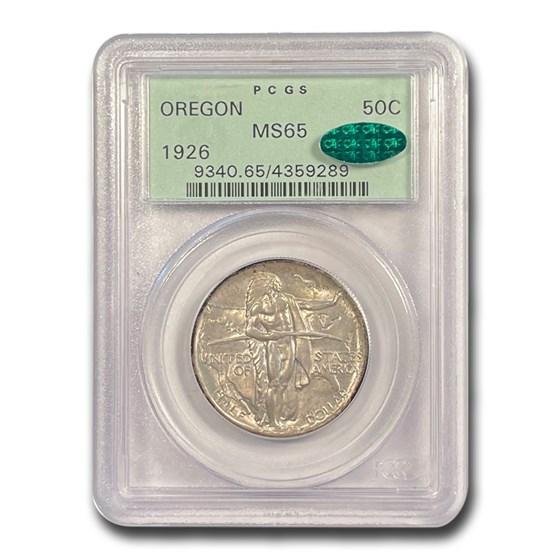 1926 Oregon Trail Memorial Half Dollar MS-65 PCGS CAC