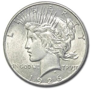 1926 Peace Dollar AU-58