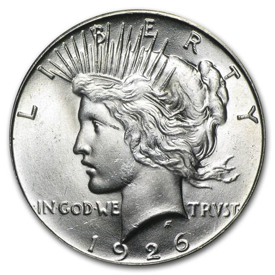 1926 Peace Dollar BU