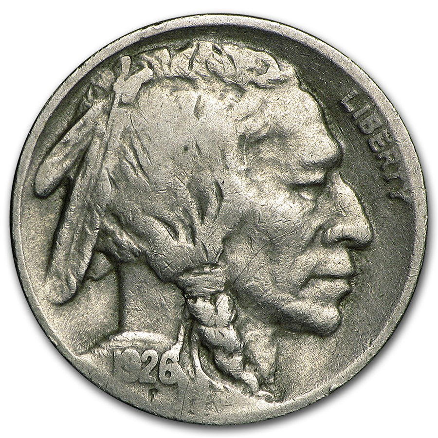 1926-S Buffalo Nickel Fine