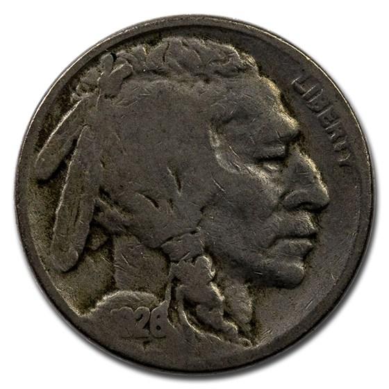 1926-S Buffalo Nickel Good