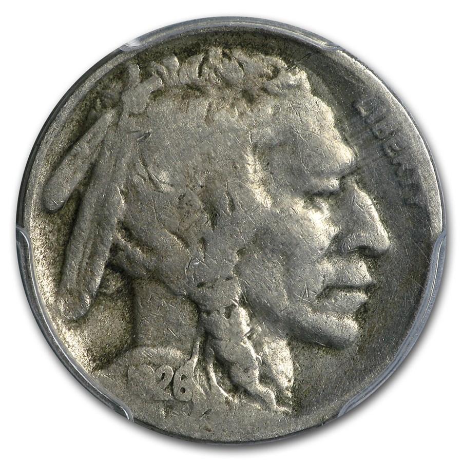 1926-S Buffalo Nickel VG