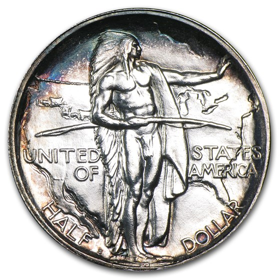 1926-S Oregon Trail Memorial Half Dollar Commem Half BU
