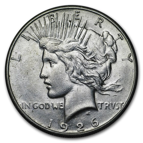 1926-S Peace Dollar XF