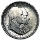 1926 Sesquicentennial American Independence Half AU