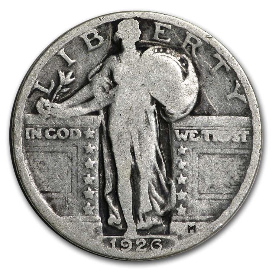 1926 Standing Liberty Quarter Good/VG