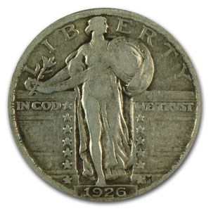 1926 Standing Liberty Quarter VF