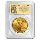 1927 $20 Saint-Gaudens Double Eagle BU PCGS (Prospector Label)