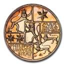 1927-A Germany Silver 3 Mark Marburg University PR-66 Cameo PCGS