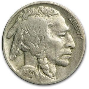 1927 Buffalo Nickel Fine