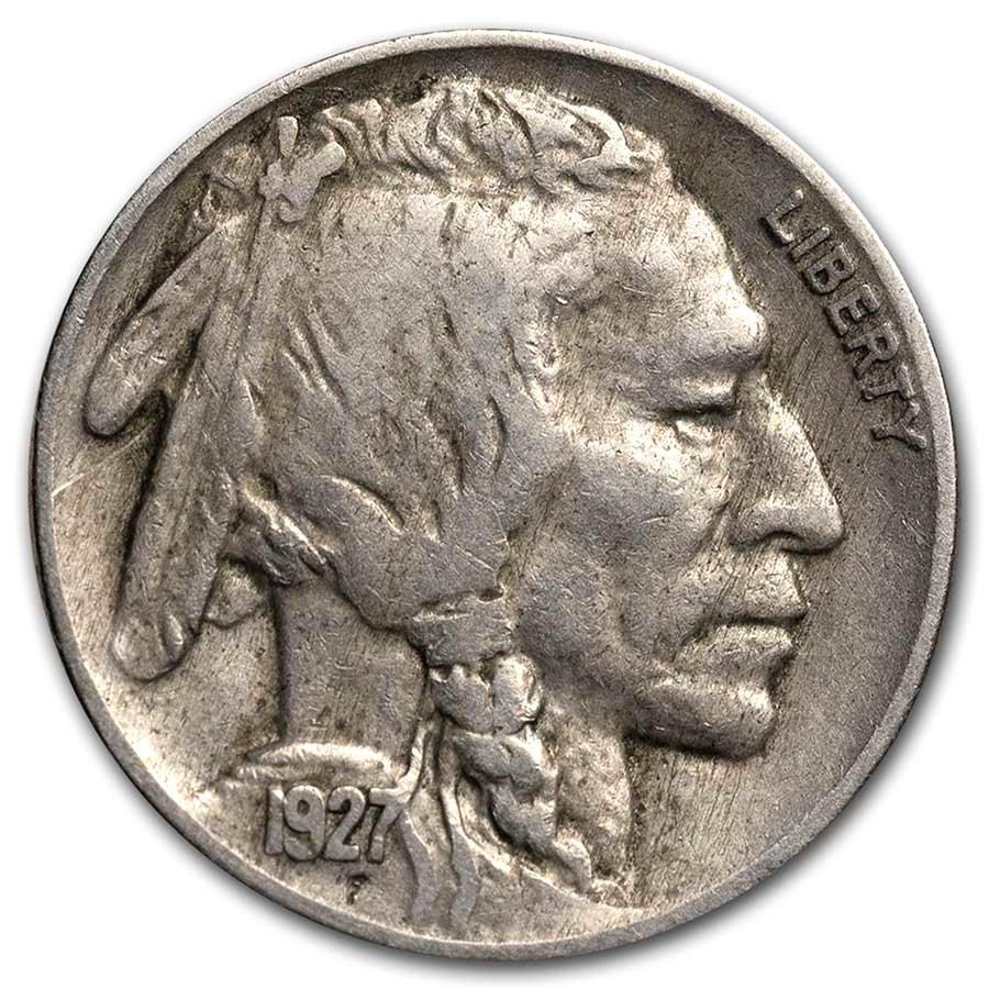 1927 Buffalo Nickel XF