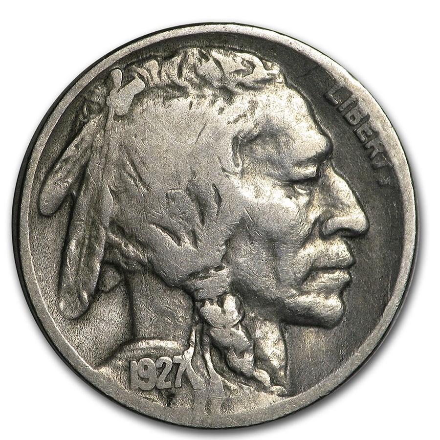 1927-D Buffalo Nickel Fine