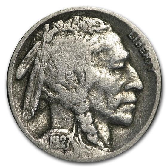1927-D Buffalo Nickel Good