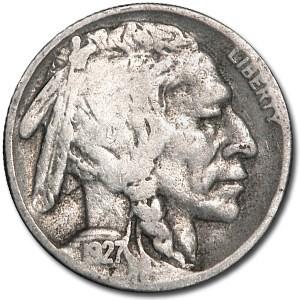 1927-D Buffalo Nickel Good+