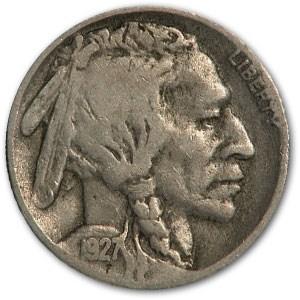1927-D Buffalo Nickel VG