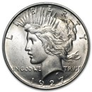 1927-D Peace Dollar AU-58