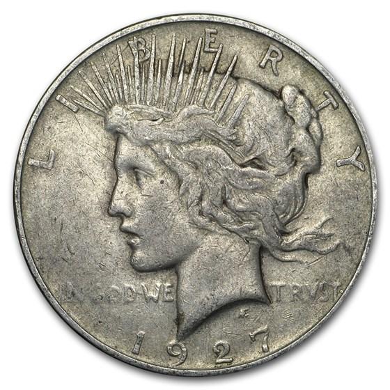 1927-D Peace Dollar VG/VF