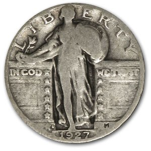 1927-D Standing Liberty Quarter Good