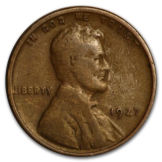 1927 Lincoln Cent Good/Fine