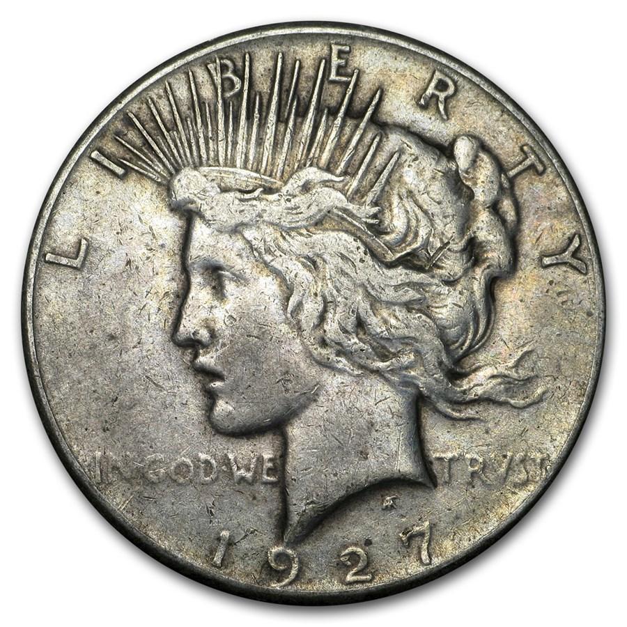 1927 Peace Dollar VG/VF