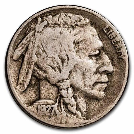 1927-S Buffalo Nickel Fine