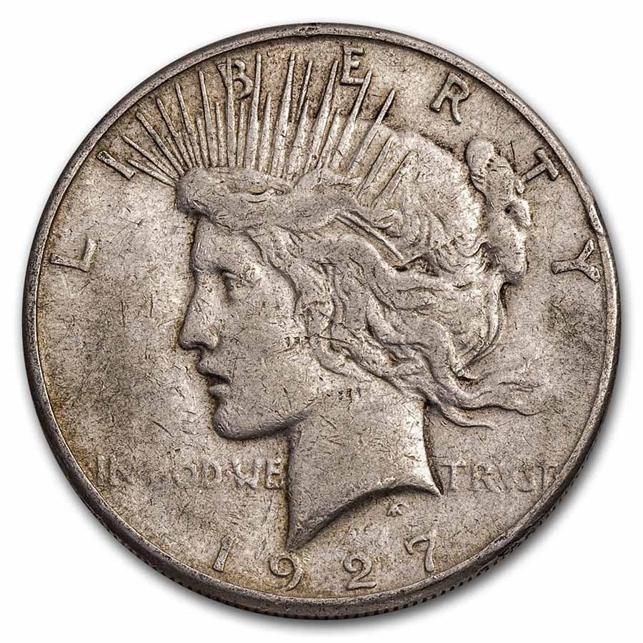 1927-S Peace Dollar Cull