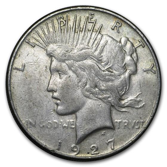 1927-S Peace Dollar VG/VF