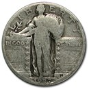 1927-S Standing Liberty Quarter AG