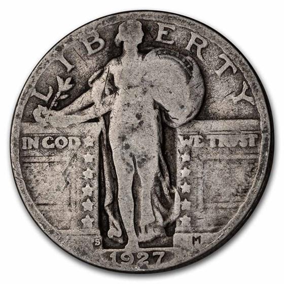 1927-S Standing Liberty Quarter AG