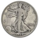 1927-S Walking Liberty Half Dollar Fine