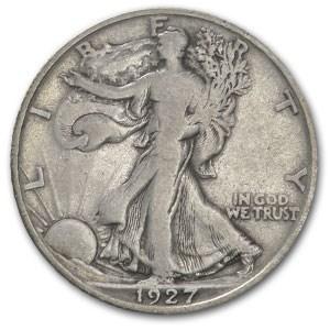1927-S Walking Liberty Half Dollar Fine