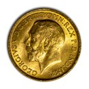 1927-SA South Africa Gold Sovereign George V BU