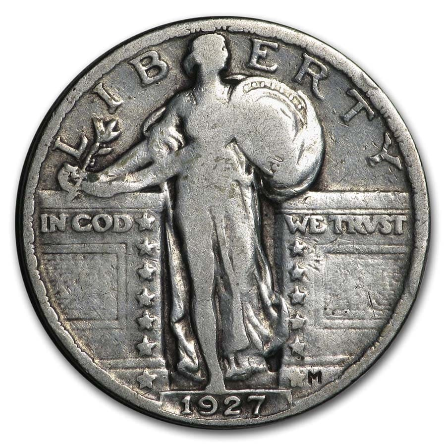 1927 Standing Liberty Quarter Good/VG