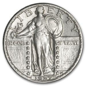 1927 Standing Liberty Quarter XF