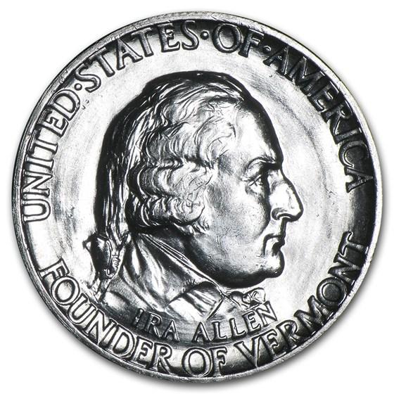1927 Vermont Half Dollar Commem BU